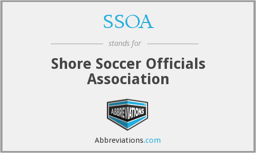 SSOA - Shore Soccer Officials Association