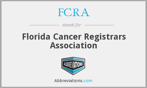 FCRA - Florida Cancer Registrars Association