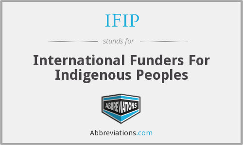 IFIP - International Funders For Indigenous Peoples