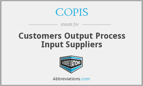 What does COPIS stand for?