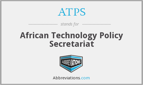 ATPS - African Technology Policy Secretariat
