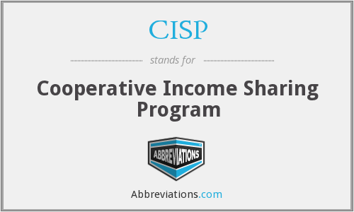 CISP - Cooperative Income Sharing Program