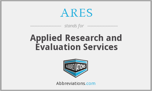 ARES - Applied Research and Evaluation Services