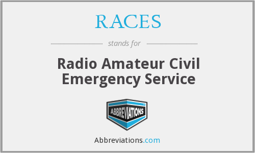 RACES - Radio Amateur Civil Emergency Service