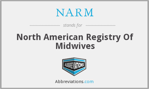 NARM - North American Registry Of Midwives