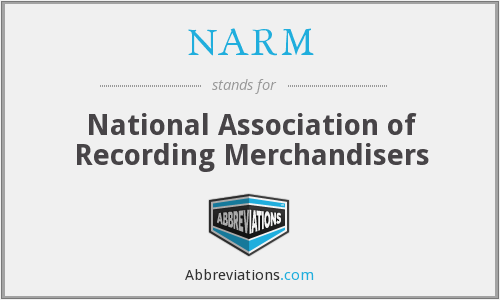 NARM - National Association of Recording Merchandisers