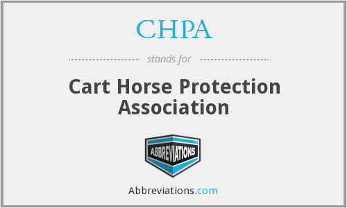 CHPA - Cart Horse Protection Association