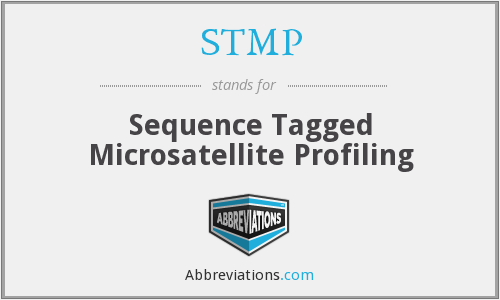 STMP - Sequence Tagged Microsatellite Profiling