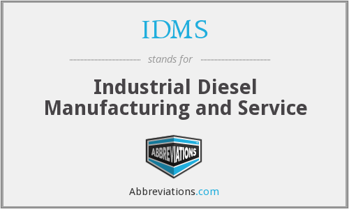 IDMS - Industrial Diesel Manufacturing and Service