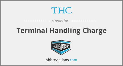 THC - Terminal Handling Charge