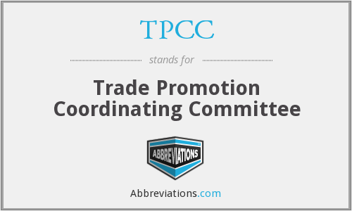 TPCC - Trade Promotion Coordinating Committee