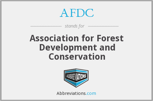 AFDC - Association for Forest Development and Conservation