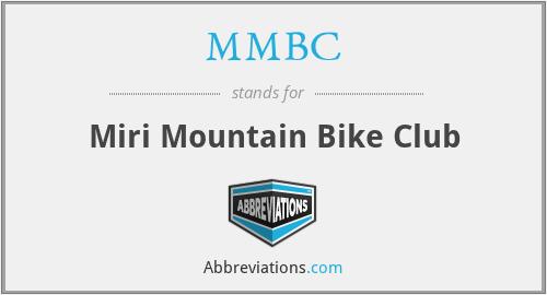 MMBC - Miri Mountain Bike Club
