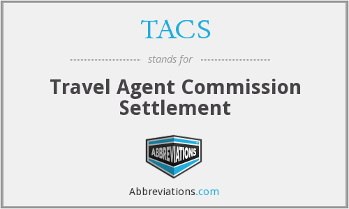 TACS - Travel Agent Commission Settlement