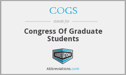 COGS - Congress Of Graduate Students