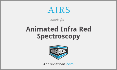 AIRS - Animated Infra Red Spectroscopy