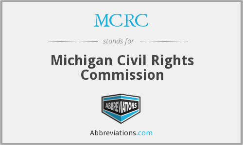 MCRC - Michigan Civil Rights Commission