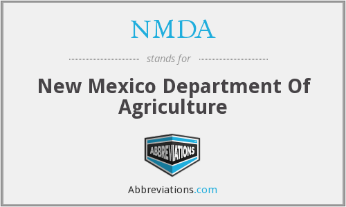 NMDA - New Mexico Department Of Agriculture