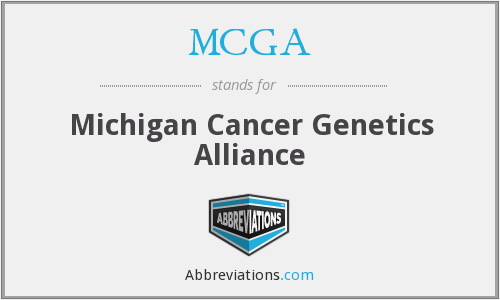 MCGA - Michigan Cancer Genetics Alliance