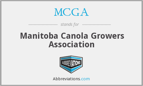 MCGA - Manitoba Canola Growers Association