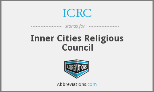 ICRC - Inner Cities Religious Council