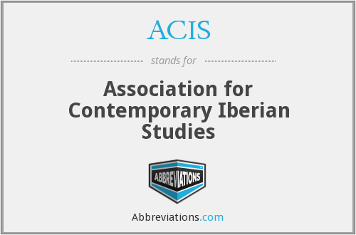 ACIS - Association for Contemporary Iberian Studies