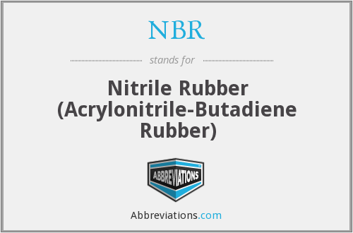 NBR - Nitrile Rubber (Acrylonitrile-Butadiene Rubber)