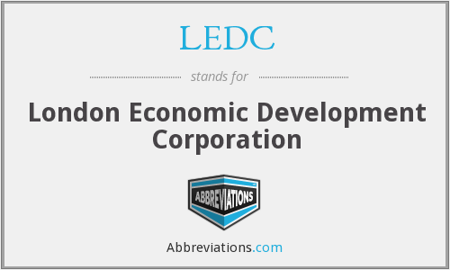 LEDC - London Economic Development Corporation