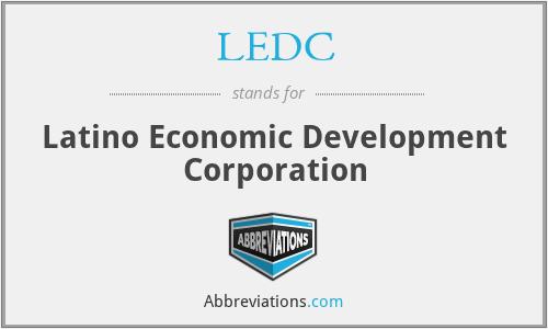LEDC - Latino Economic Development Corporation