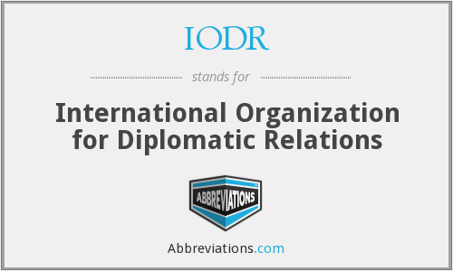 IODR - International Organization for Diplomatic Relations