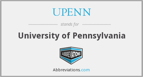 What does UPENN stand for?