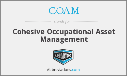 COAM - Cohesive Occupational Asset Management