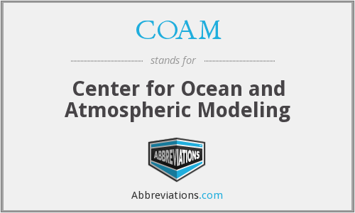 COAM - Center for Ocean and Atmospheric Modeling