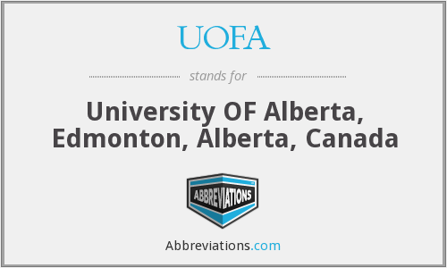 UOFA - University OF Alberta, Edmonton, Alberta, Canada