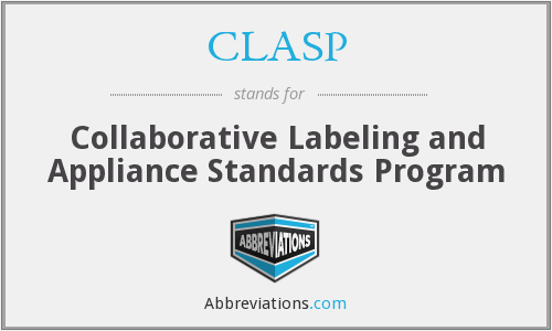 CLASP - Collaborative Labeling and Appliance Standards Program
