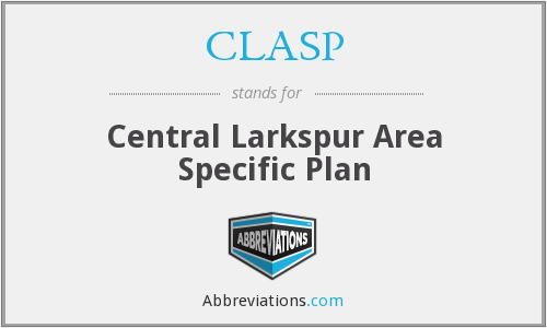 CLASP - Central Larkspur Area Specific Plan