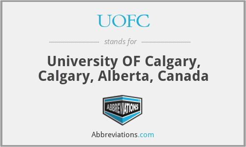 UOFC - University OF Calgary, Calgary, Alberta, Canada