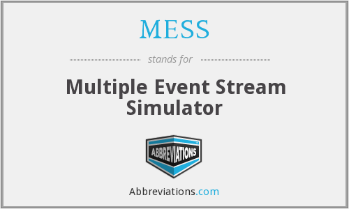 MESS - Multiple Event Stream Simulator