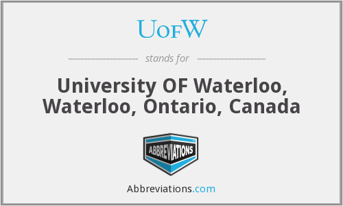 What does UOFW stand for?
