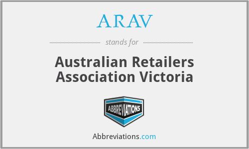 ARAV - Australian Retailers Association Victoria