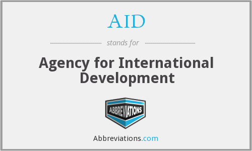 What does AID stand for?