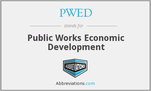 PWED - Public Works Economic Development