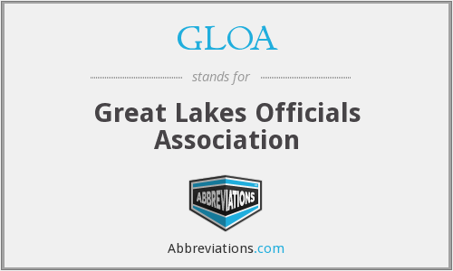 GLOA - Great Lakes Officials Association