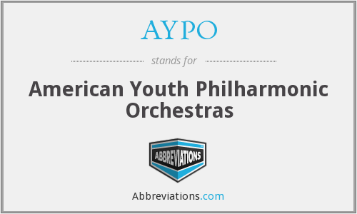 What does AYPO stand for?