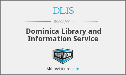 DLIS - Dominica Library and Information Service