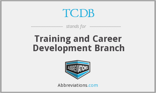 TCDB - Training and Career Development Branch