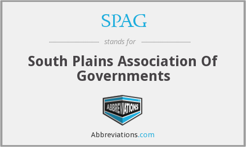 SPAG - South Plains Association Of Governments