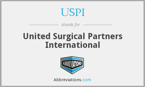 USPI - United Surgical Partners International