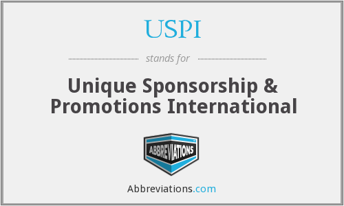 USPI - Unique Sponsorship & Promotions International