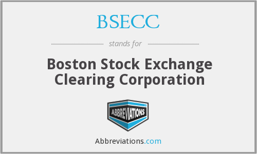 What does BSECC stand for?